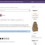 Web con informes y comparativas de productos